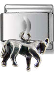 Tiny Pony Dangle Silver Charm