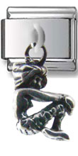 Mermaid Silver Charm
