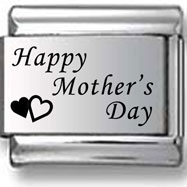 Happy Mother's Day Laser Charm