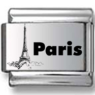 Paris Eiffel Tower Laser Charm