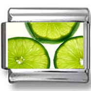 Lime Slices Photo Charm