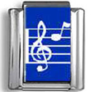Music Note Photo Italian Charm