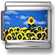 Sunflower Patch Italian Charm