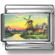 Windmill photo charm