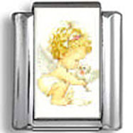 Baby Angel Photo Charm
