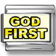 God First Photo Charm