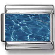 Clear Blue Water Photo Charm