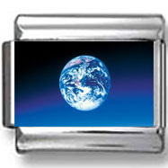 The Earth Photo Charm