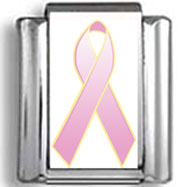 Lavender Awareness Ribbon Photo Charm