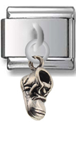 Boot Sterling Silver Italian Charm