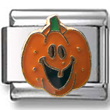 Pumpkin with Tooth Italian Charm