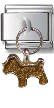 Dangle Dog Italian Charm