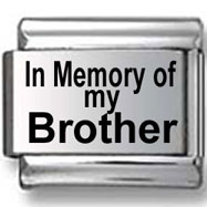 In memory of my Brother Italian Charm