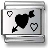 Heart With Arrow Charm