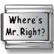 Where's Mr. Right? Italian Charm