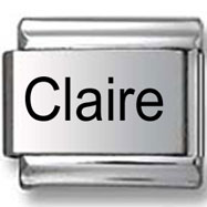 Claire Laser Italian Charm