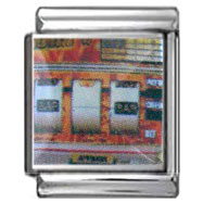 Slot Machine Italian Photo Charm 13mm