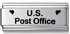 US Post Office Italian Charm