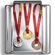 Olympic Medals Olympic Photo Charm