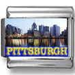 Pittsburgh Landmark Photo Charm