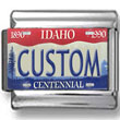 Idaho License Plate Custom Charm