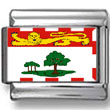 Prince Edward Island, Canada Flag Photo Charm