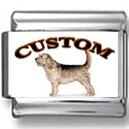 Otterhound Dog Custom Photo Charm