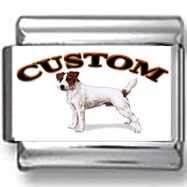 Parson Russell Terrier Dog Custom Photo Charm