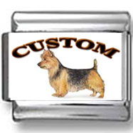 Australian Terrier Dog Custom Photo Charm