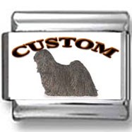 Puli Dog Custom Photo Charm