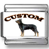 Beauceron Dog Custom Photo Charm