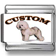 Bichon Frise Dog Custom Photo Charm