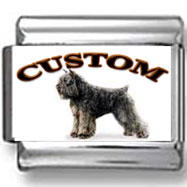 Bouvier des Flandres Dog Custom Photo Charm