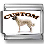 Anatolian Shepherd Dog Custom Photo Charm