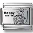 Happy Easter Egg Laser Charm