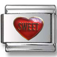Sweet Heart Italian Charm